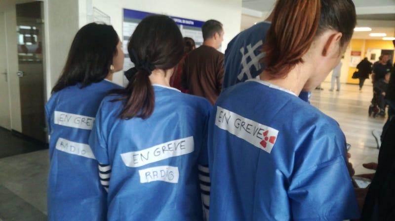 En grève ce jeudi, les personnels de l'hôpital de Bastia dénoncent un système de santé au bord de l'explosion