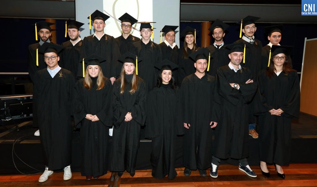 Ajaccio : 40 jeunes apprentis du CFA de l'institut consulaire ont reçu leurs diplômes - Corse Net Infos