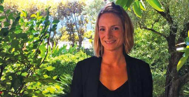 Antonia Luciani, secrétaire générale de la Fondation Coppieters et organisatrice de l'évènement.