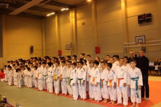 Les résultats du tournoi national de judo à Calvi