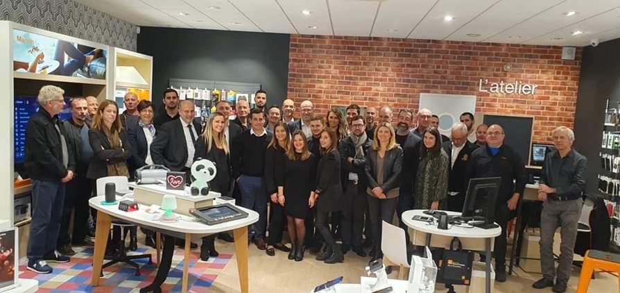 """Porto-Vecchio : les """"Quatre portes"""" accueillent le smart store d'Orange - Corse Net Infos"""
