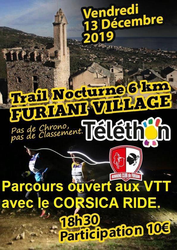 Furiani : Un trail nocturne pour le Téléthon ce 13 décembre