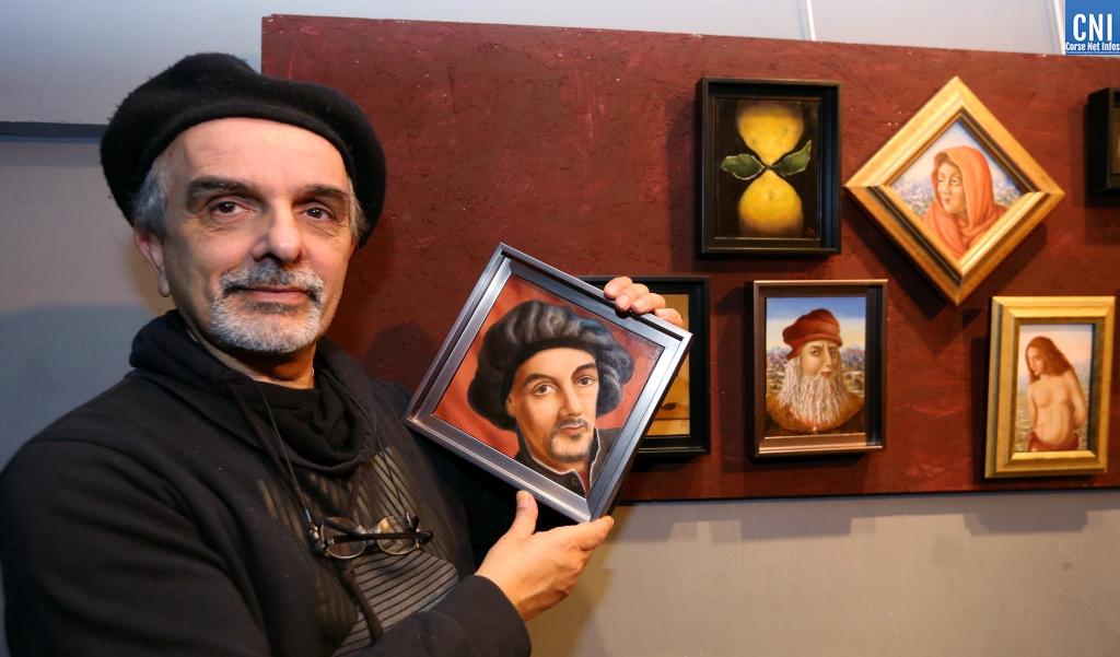 Ajaccio : Mario Sépulcre expose ses microcosmes à Locu Teatrale