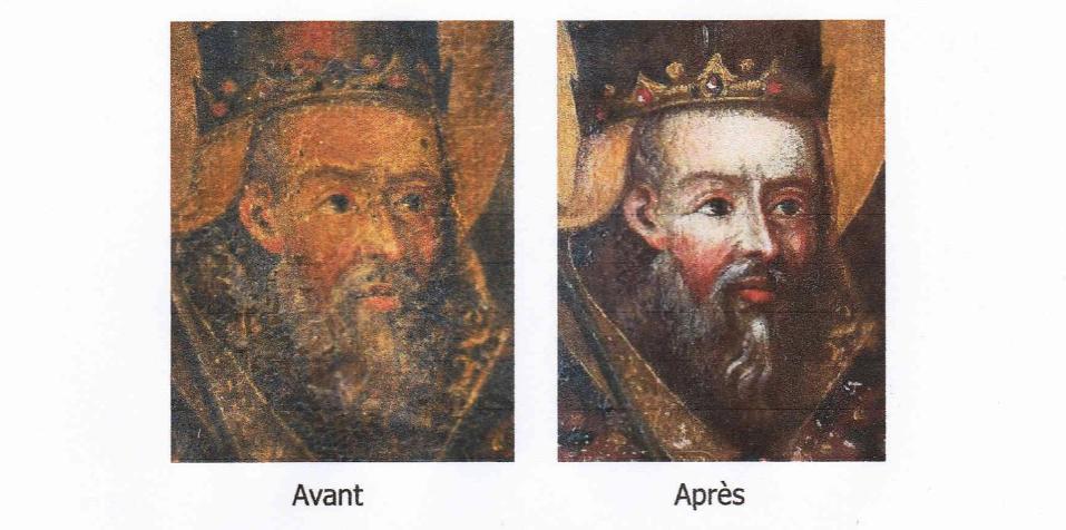 Pietracorbara : le tableau de  Saint Clément retrouve sa place