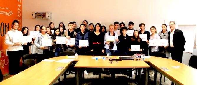 Bastia : Les élèves du Lycée Paul-Vincensini récompensés pour leur ouverture sur le Monde