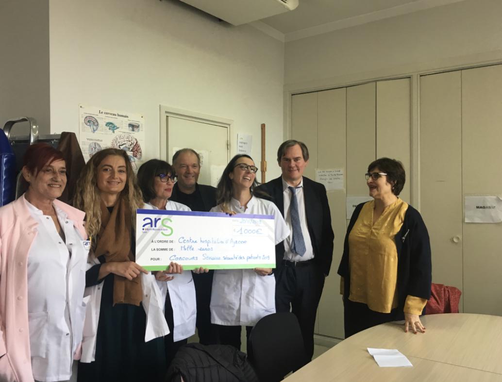 Semaine de la sécurité des patients : l'ARS prime l'hôpital d'Ajaccio