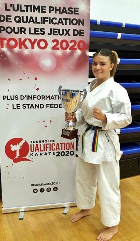 Cassandra Sampieri remporte la la coupe de France Kata