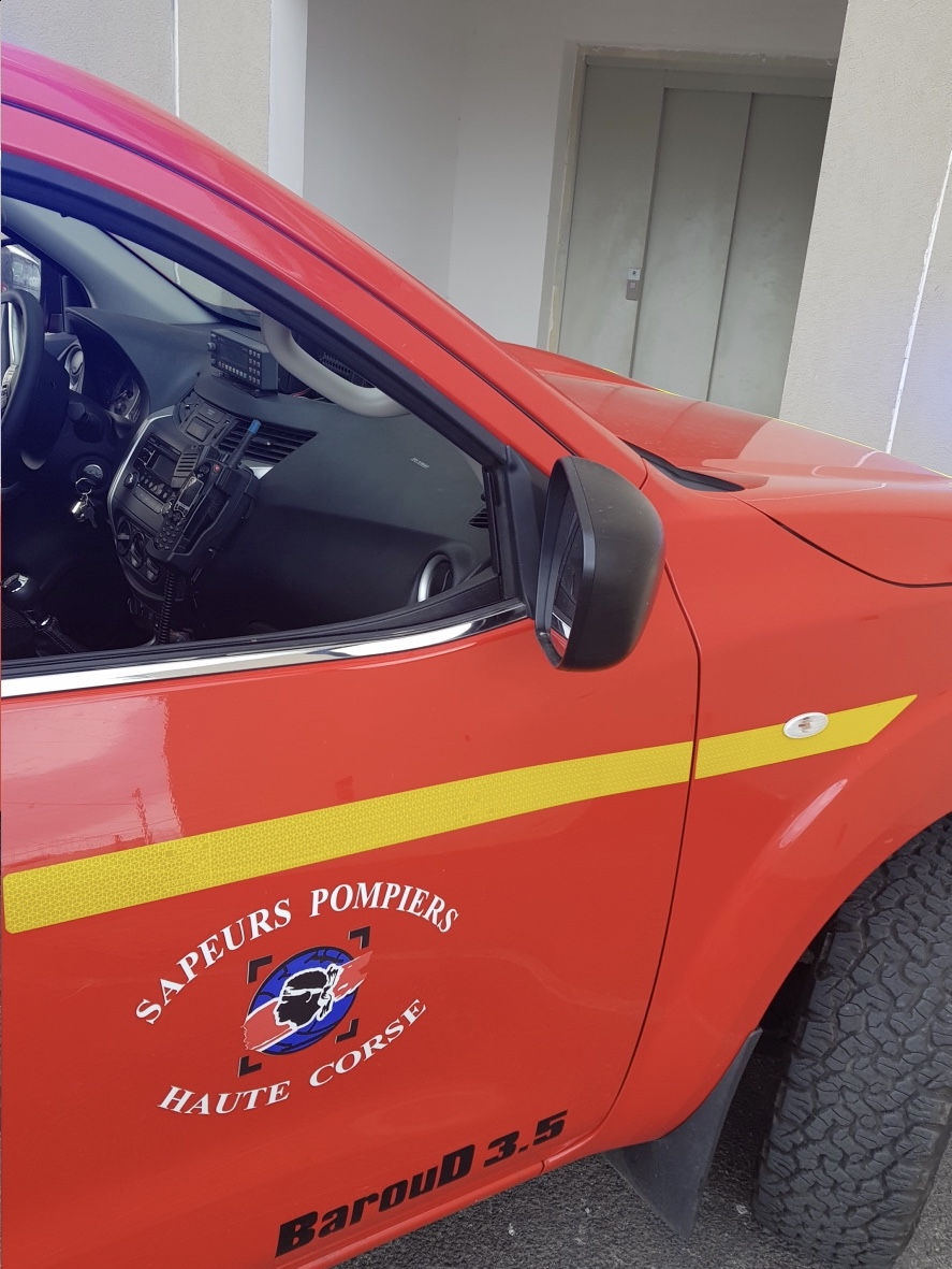 Bonifatu : Les pompiers au secours d'un chien tombé dans une excavation