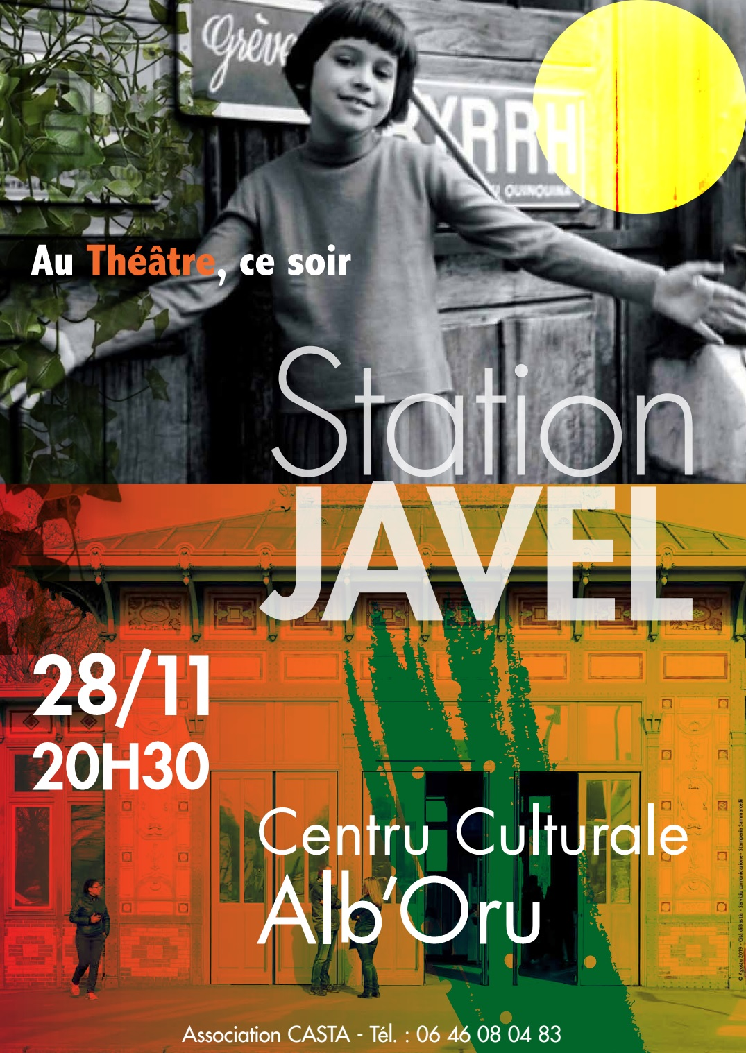 Bastia : « Station Javel », un beau spectacle musical à l'Alb'Oru