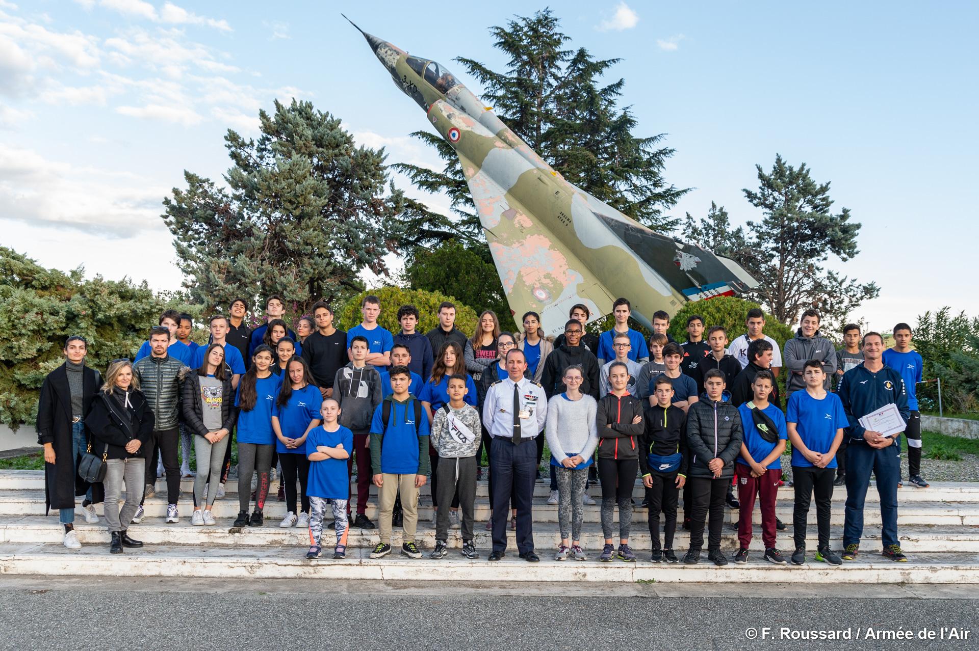 Une journée sport armée-jeunesse à la base aérienne de Ventiseri-Solenzara