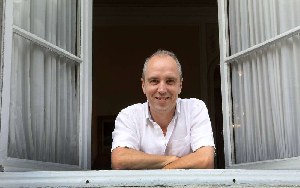 "Michel Feltin-Palas, rédacteur en chef de ""L'Express"""
