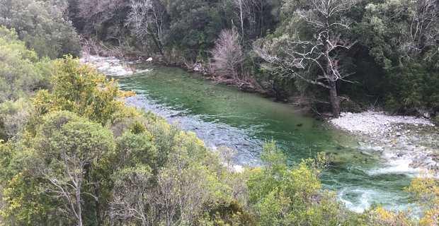 Le fleuve Tavignanu