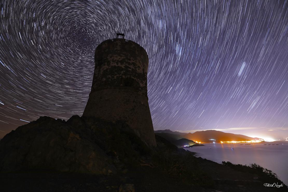 La photo du jour : le ciel étoilé brille sur les Sanguinaires