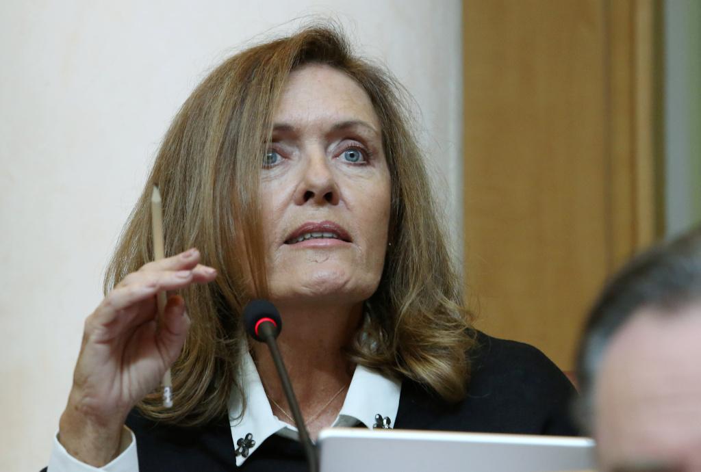 Muriel Fagni. Photo Michel Luccioni.