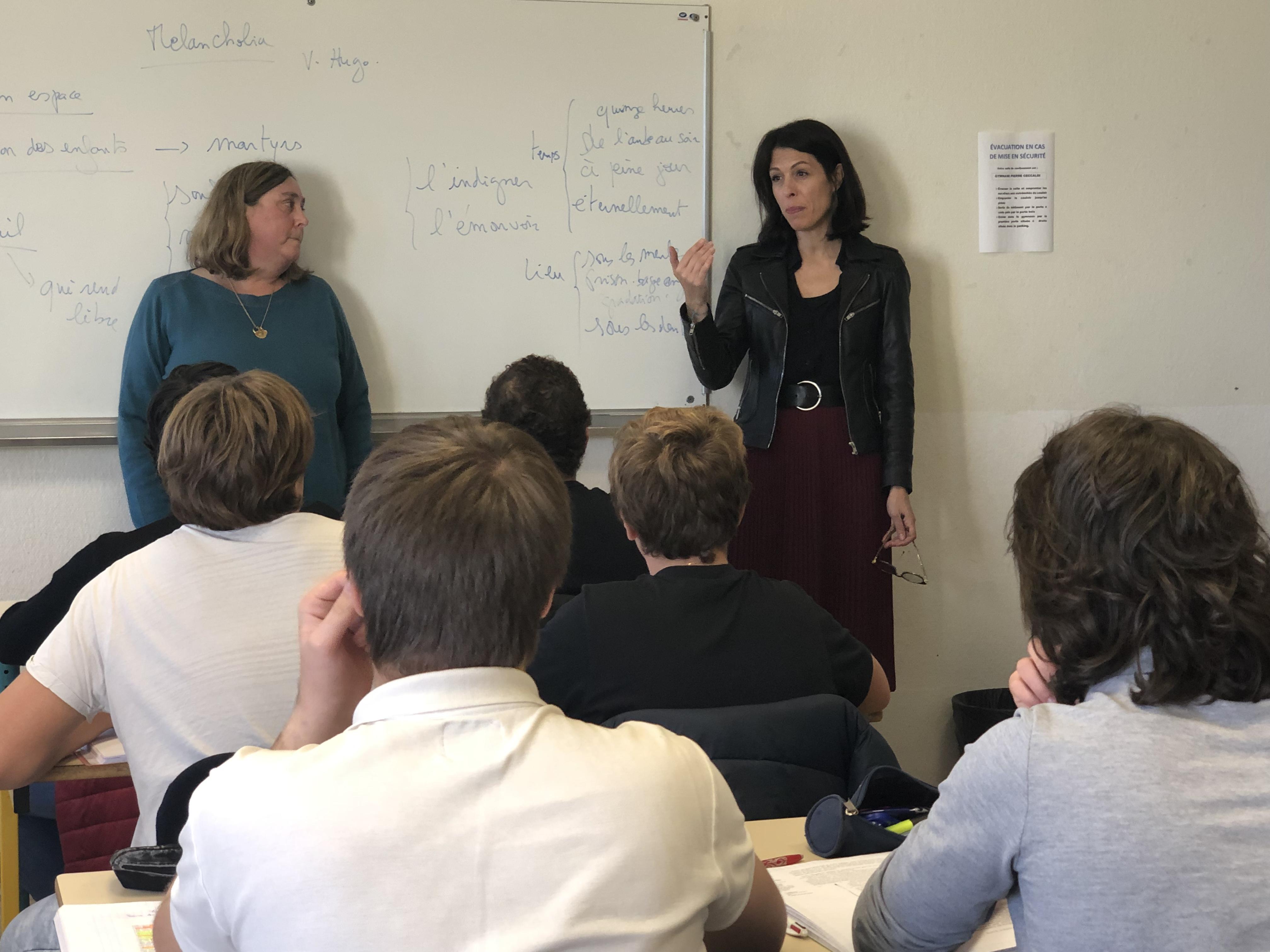 La rectrice de l'académie de Corse en visite aux collèges et lycées de Balagne