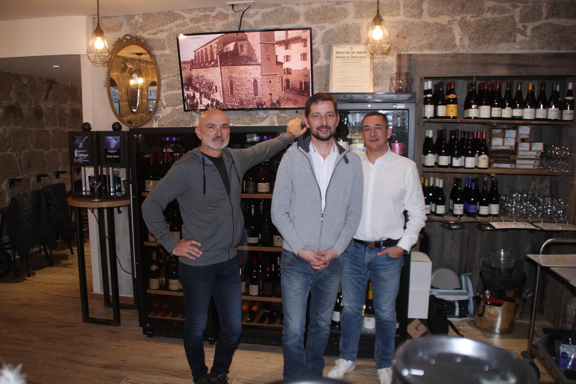 Thierry ALetti, Laurent Dehré et Christophe Giraud, invitent les Porto-Vecchiais à la semaine lyonnaise