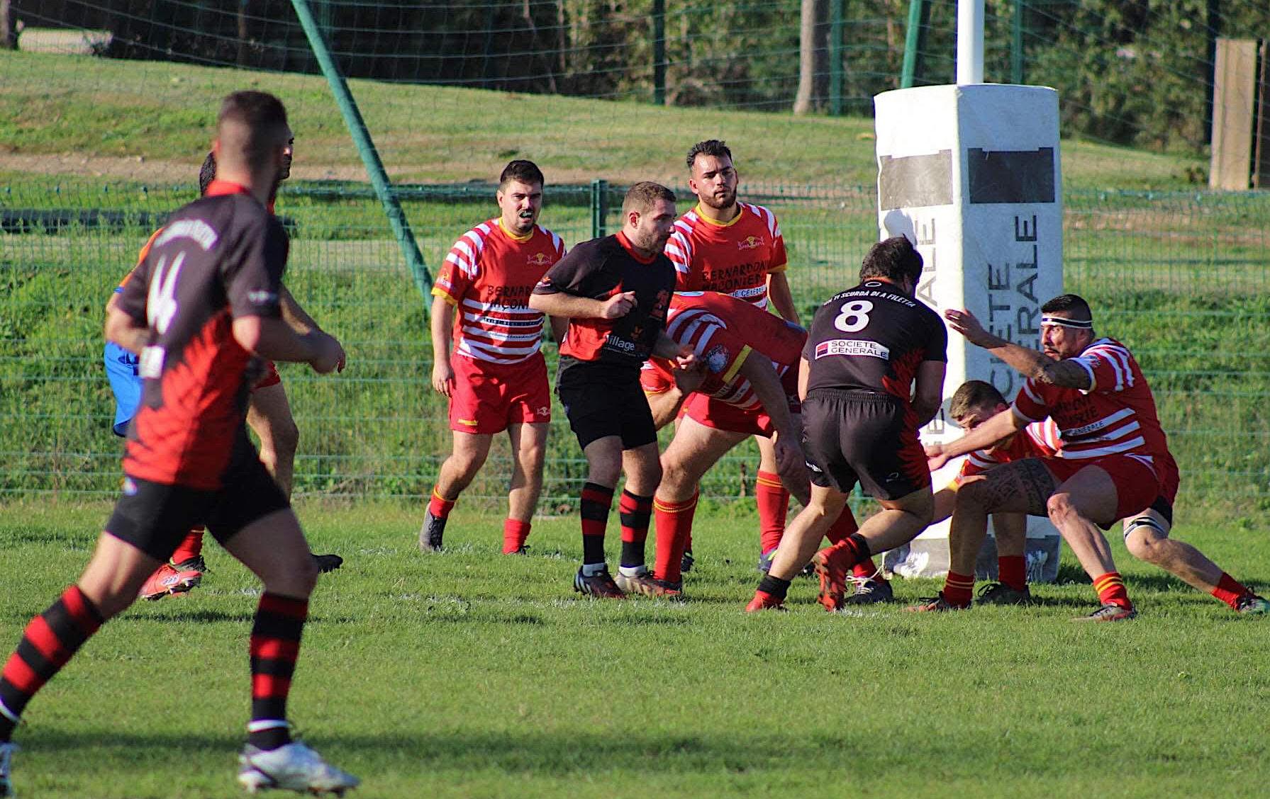Rugby : première victoire de la saison pour le RC Lucciana face à Saint Remy