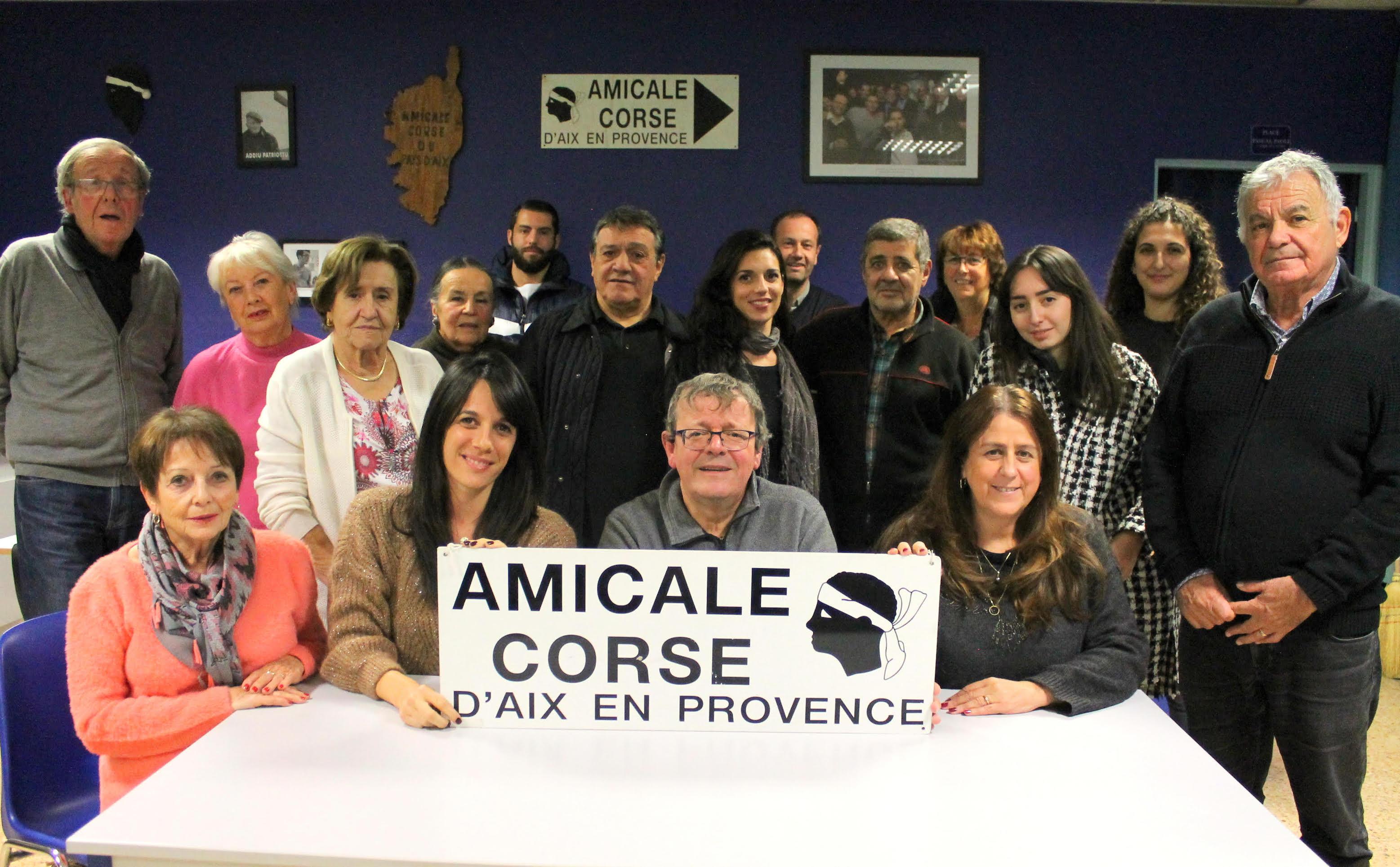 Amicale de la Corse d'Aix-en-Provence : Jéromine Rossi prend le relais
