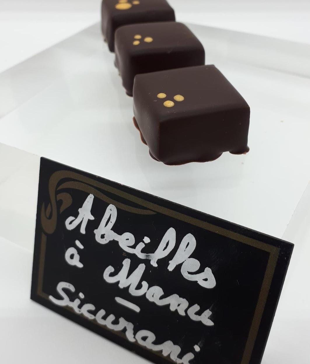 Josiane Colomb-Bereni médaille d'argent aux Chocolate Awards 2019
