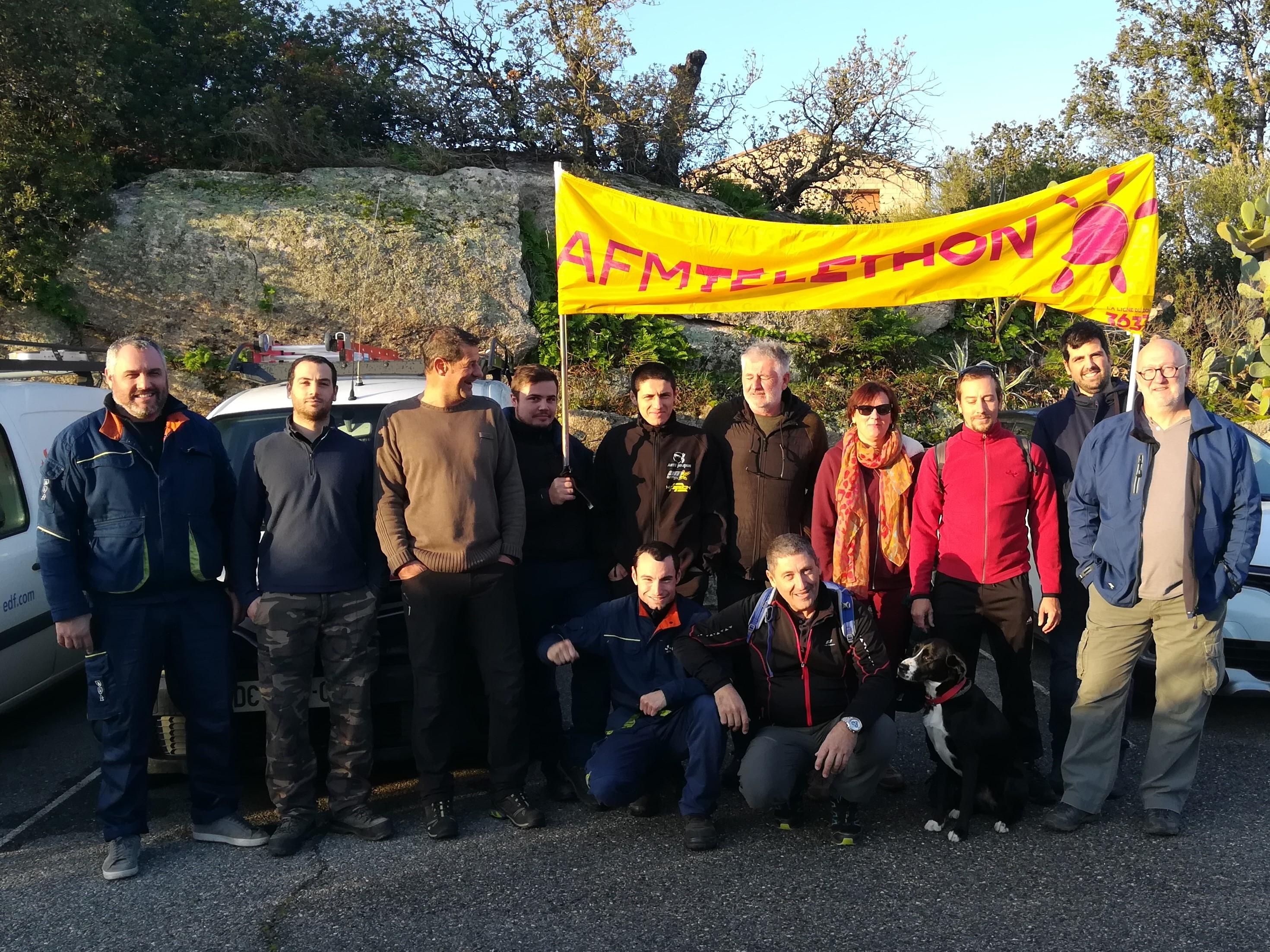 EDF Corse : De nouveaux défis organisés pour le Téléthon