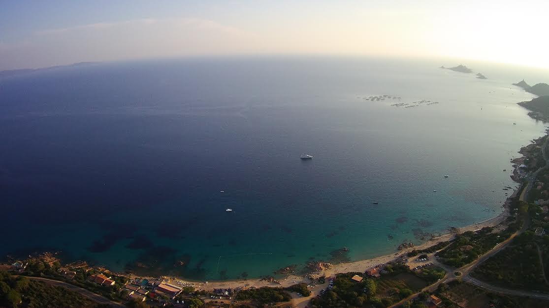 La photo du jour : en haut de la Terre Sacrée d'Ajaccio