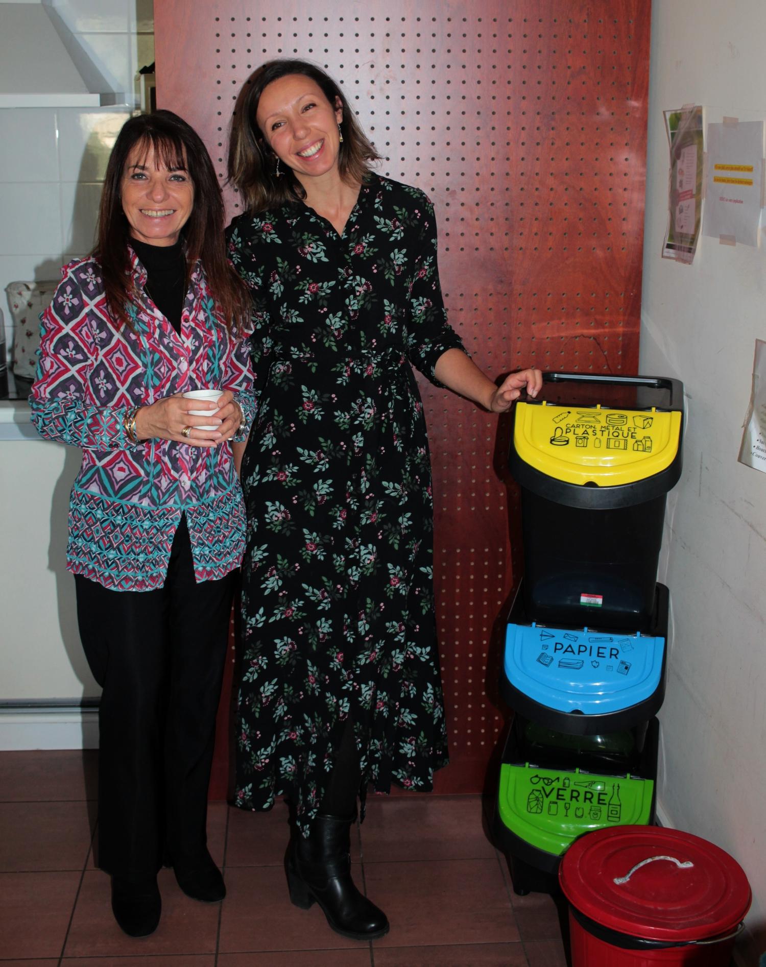 Hélène Astolfi (à gauche) et Johanna Comat