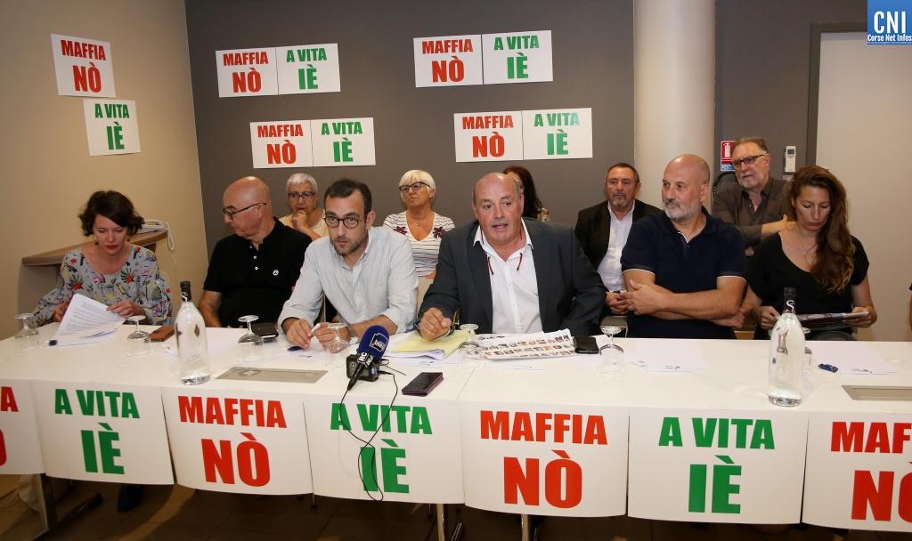 """Linguizetta : Réunion du cullettivu """"Maffia No', a vita Iè"""" ce 5 décembre"""
