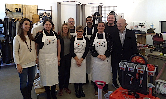 """Dino"", la recyclerie créative de Porto Vecchio, ouvre sa boutique"