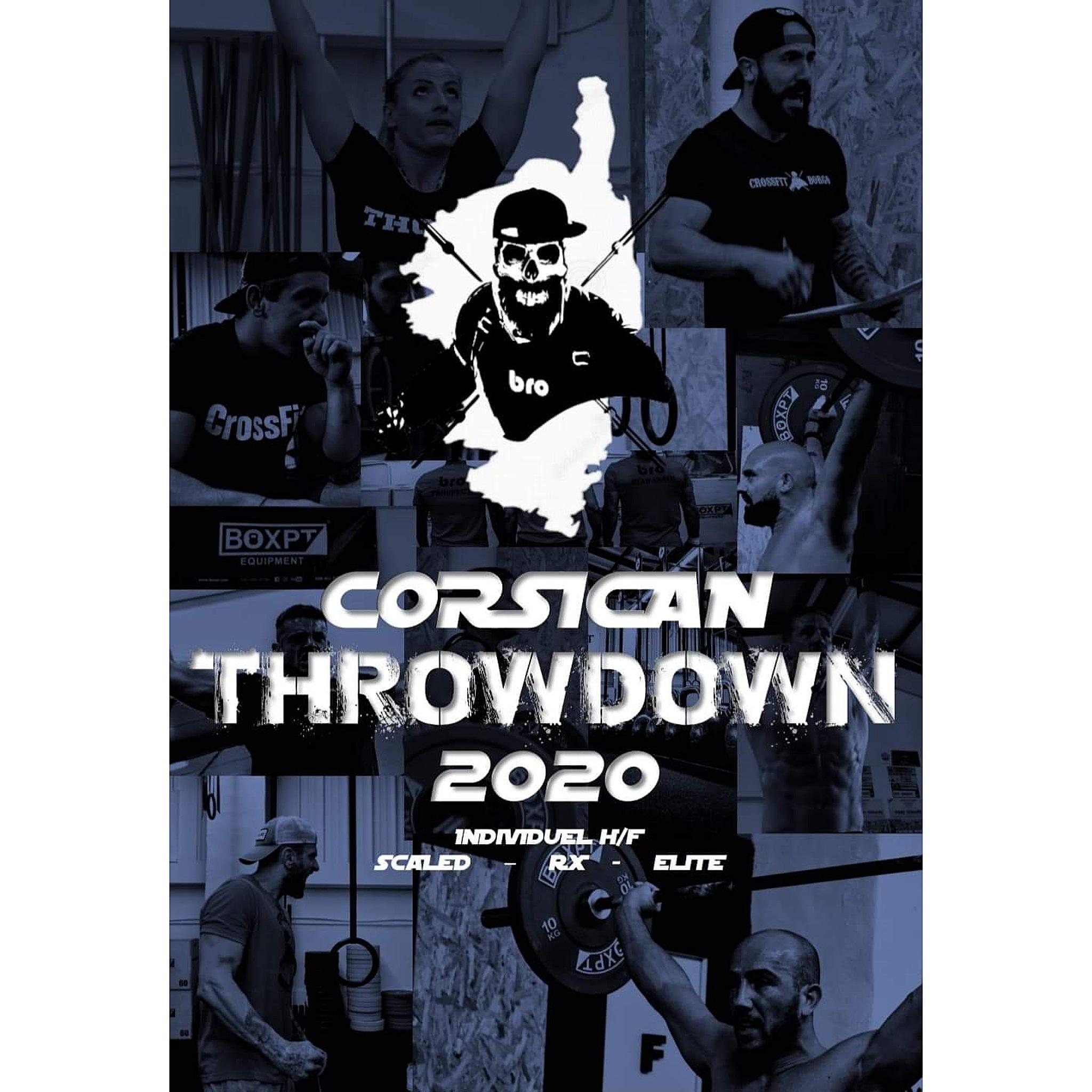 Corsican Throwdown 2020 : les inscriptions sont ouvertes