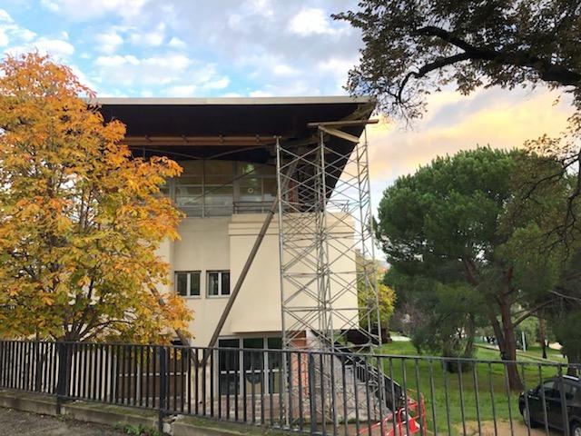 Les parents d'élèves du lycée Laetitia pointent du doigt la sécurité des bâtiments et interpellent la Collectivité de Corse