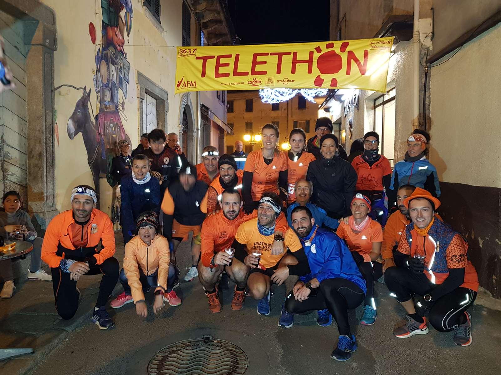 Les coureurs de Lucciana