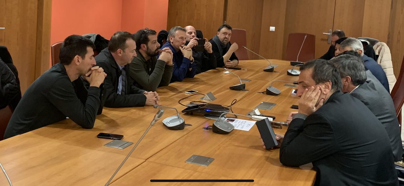"""Le Collectif Patriotti reçu à l'Assemblée nationale par le groupe """"Territoire et Libertés"""""""