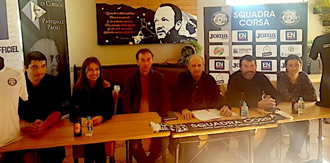 I Zitelloni et I Zitellucci de la Squadra Corsa le 23 décembre à Corte