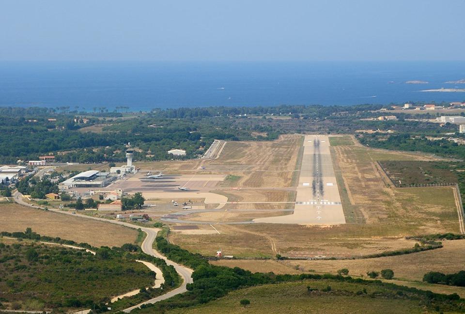 """Intempéries : Aucun trafic à l'aéroport de Calvi. Les activités de """"Natale in Calvi"""" interrompues"""