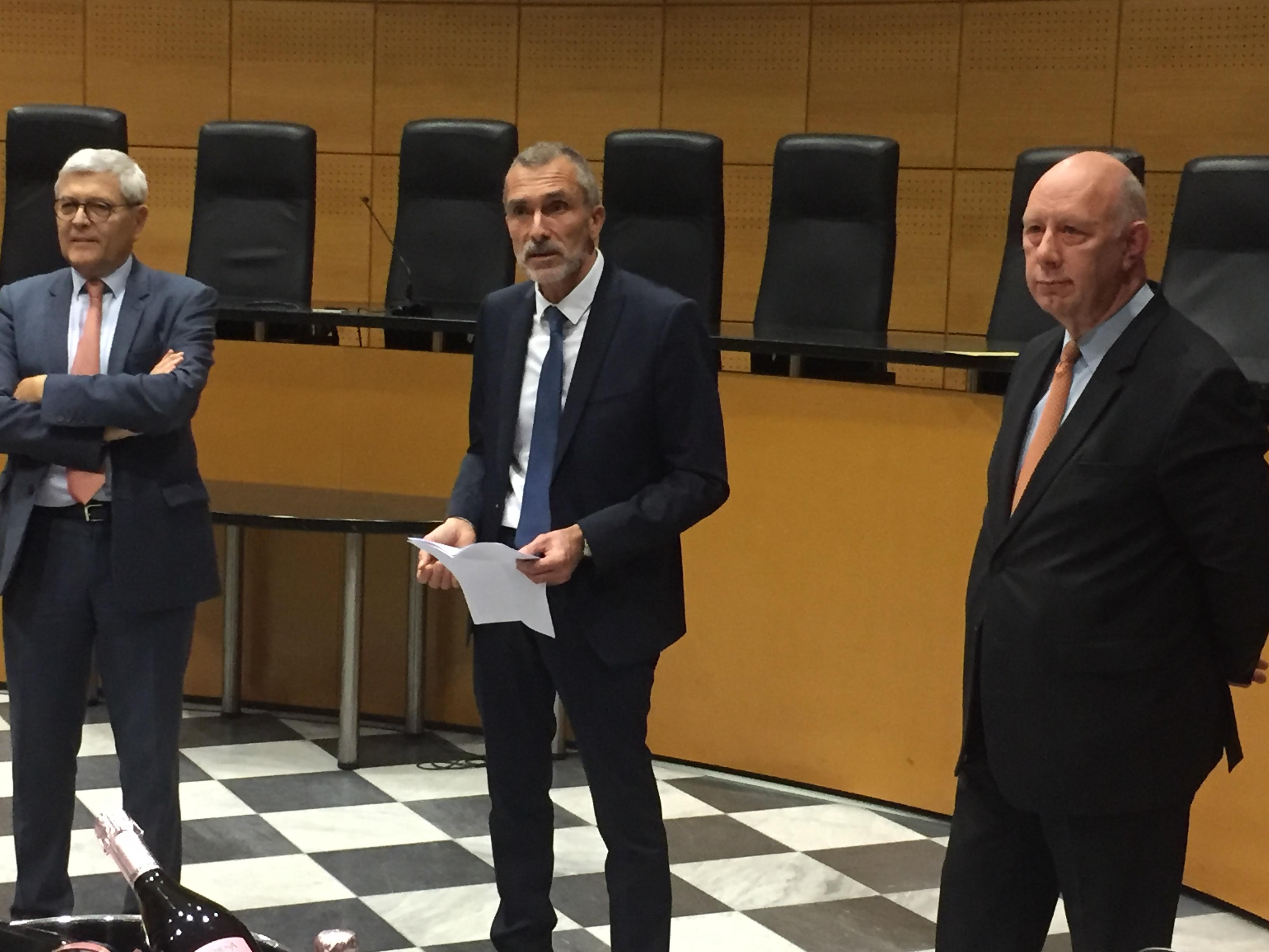 Cour d'appel : le procureur général Franck Rastoul quitte Bastia pour Toulouse