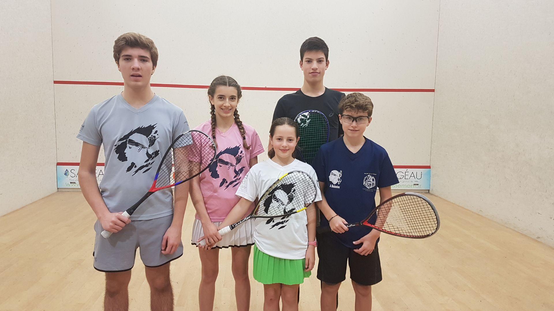 France de Squash: l'île-roussien Antonin Romieu en argent et sa soeur Lily en bronze !