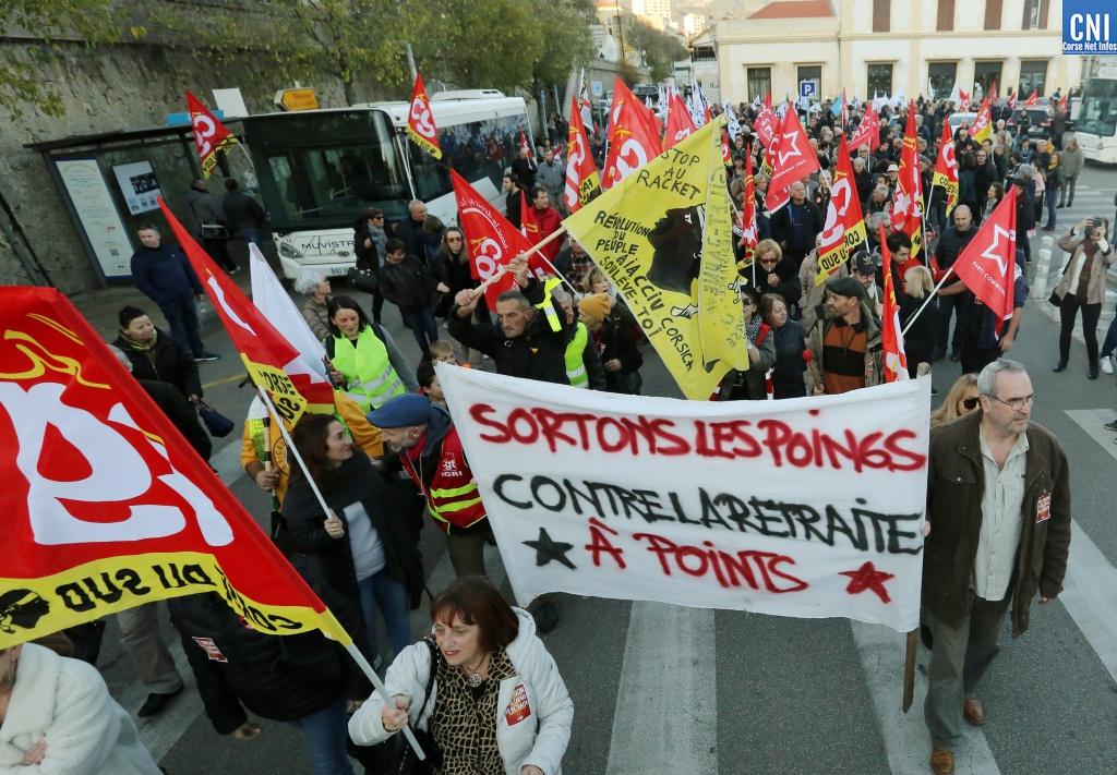 Grève du 17 décembre : à quoi faut-il s'attendre en Corse