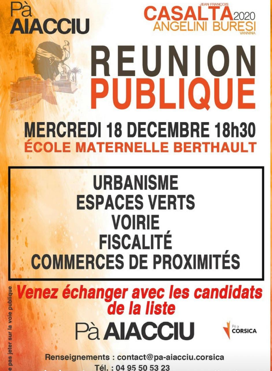 Municipales 2020 : échos de campagne du 18 Décembre