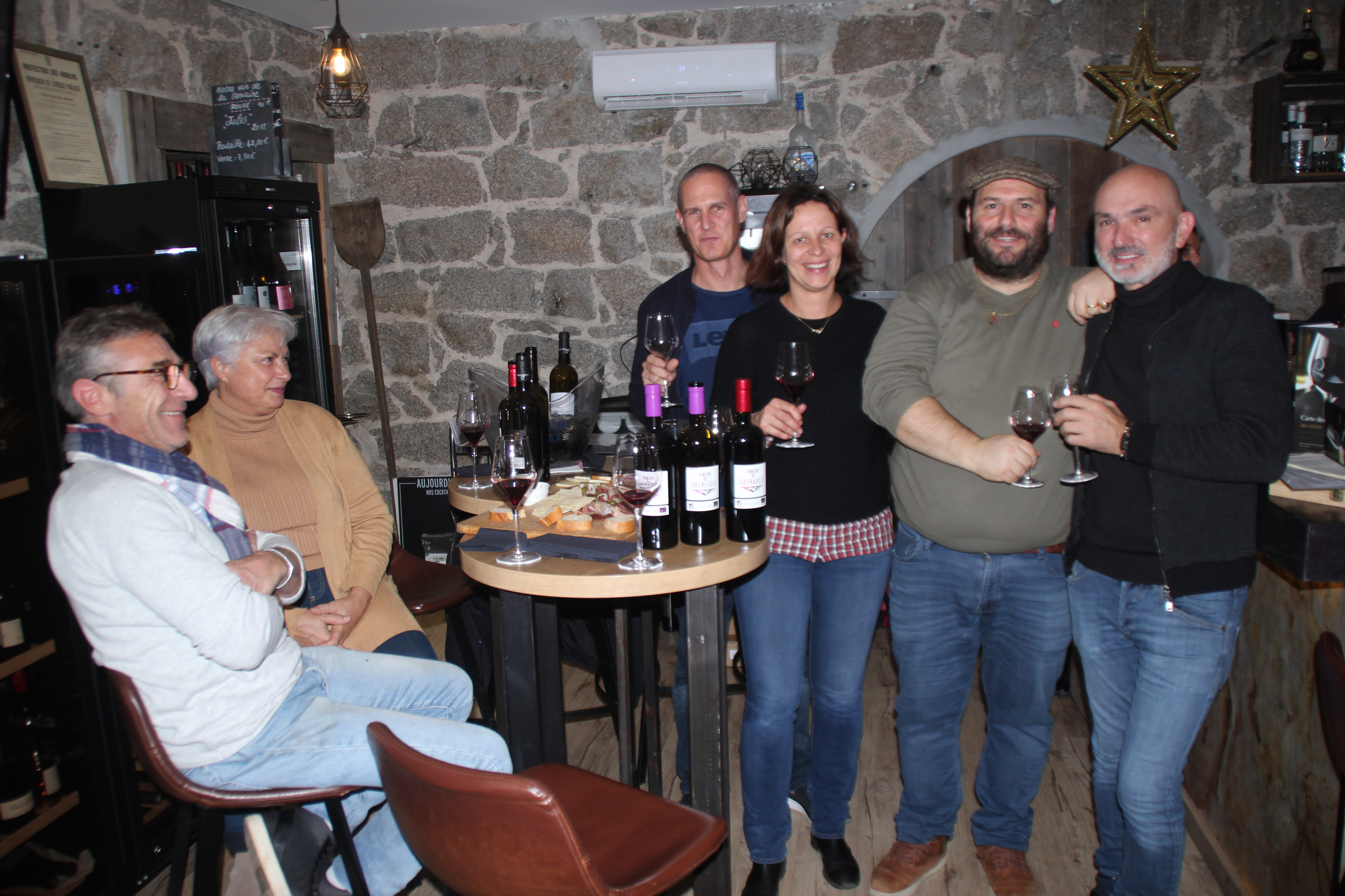 Porto-Vecchio :  Le Granajolo à l'honneur au Bel Ombra