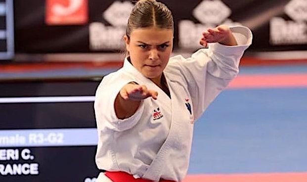 Karaté : Nouvelle sélection en équipe de France pour Cassandra Sampieri !