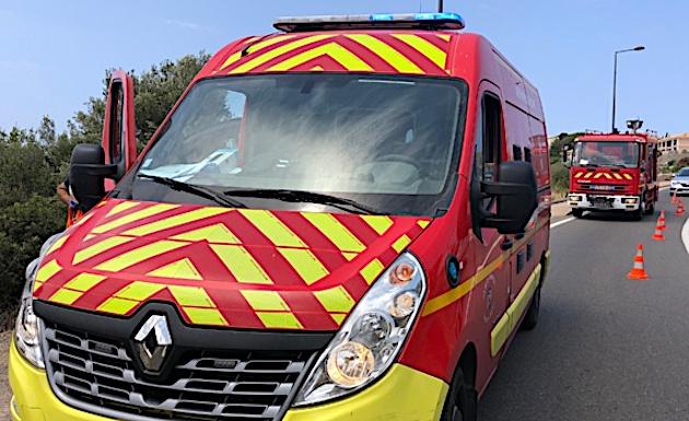 Ponte-Leccia : deux blessés dans un accident de la route