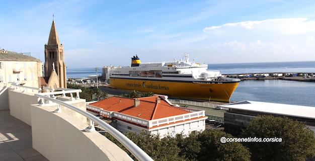 L'épisode méditerranéen affecte aussi la Corsica ferries