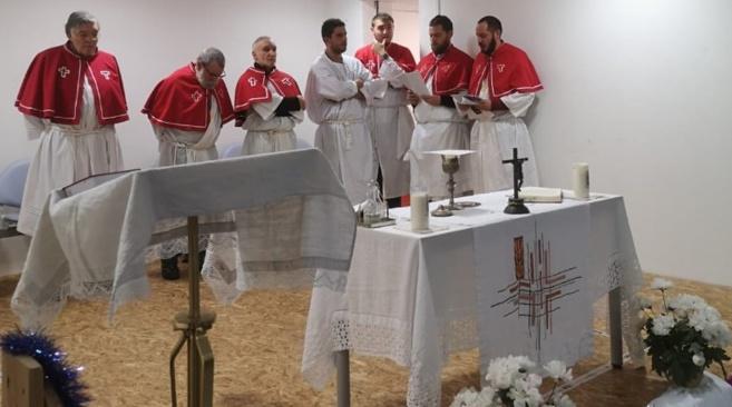Tattone : moment de partage et de communion de Noël à l'hôpital