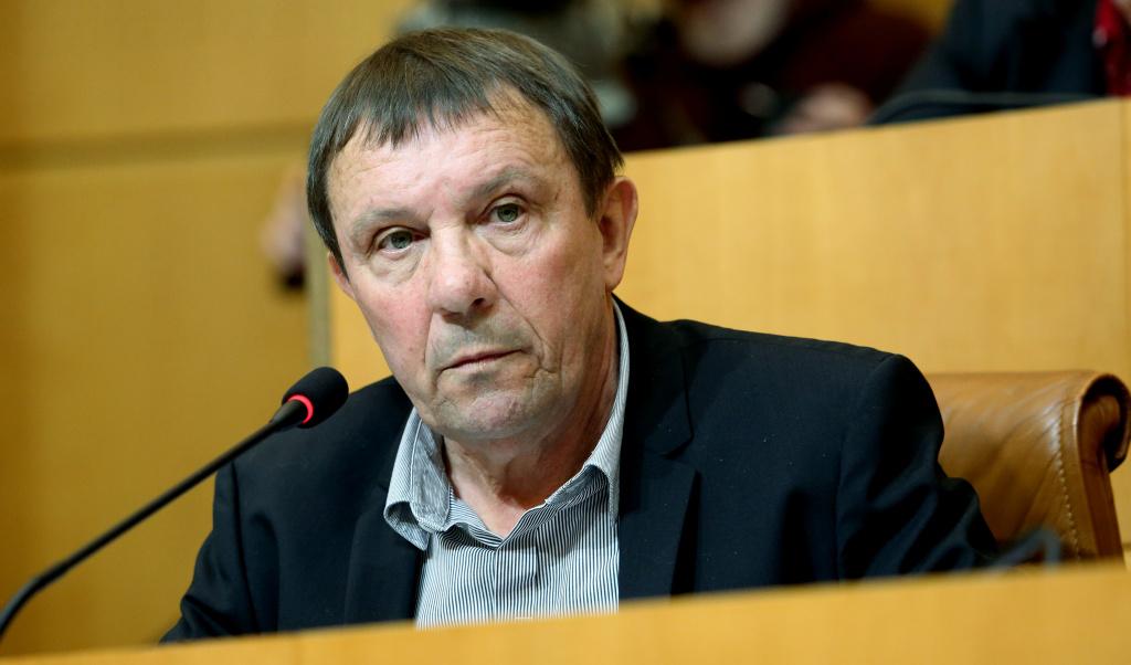 François Sargentini, conseiller exécutif et président de l'Office de l'environnement de la Corse (OEC). Photo Michel Luccioni.