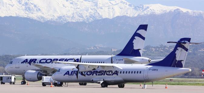 """Air Corsica """"mobilisée pour faire face à une situation inédite"""""""