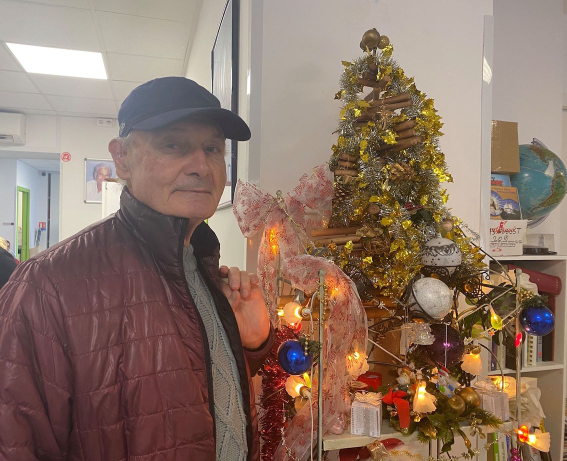 Gérard : Un Noël seul.