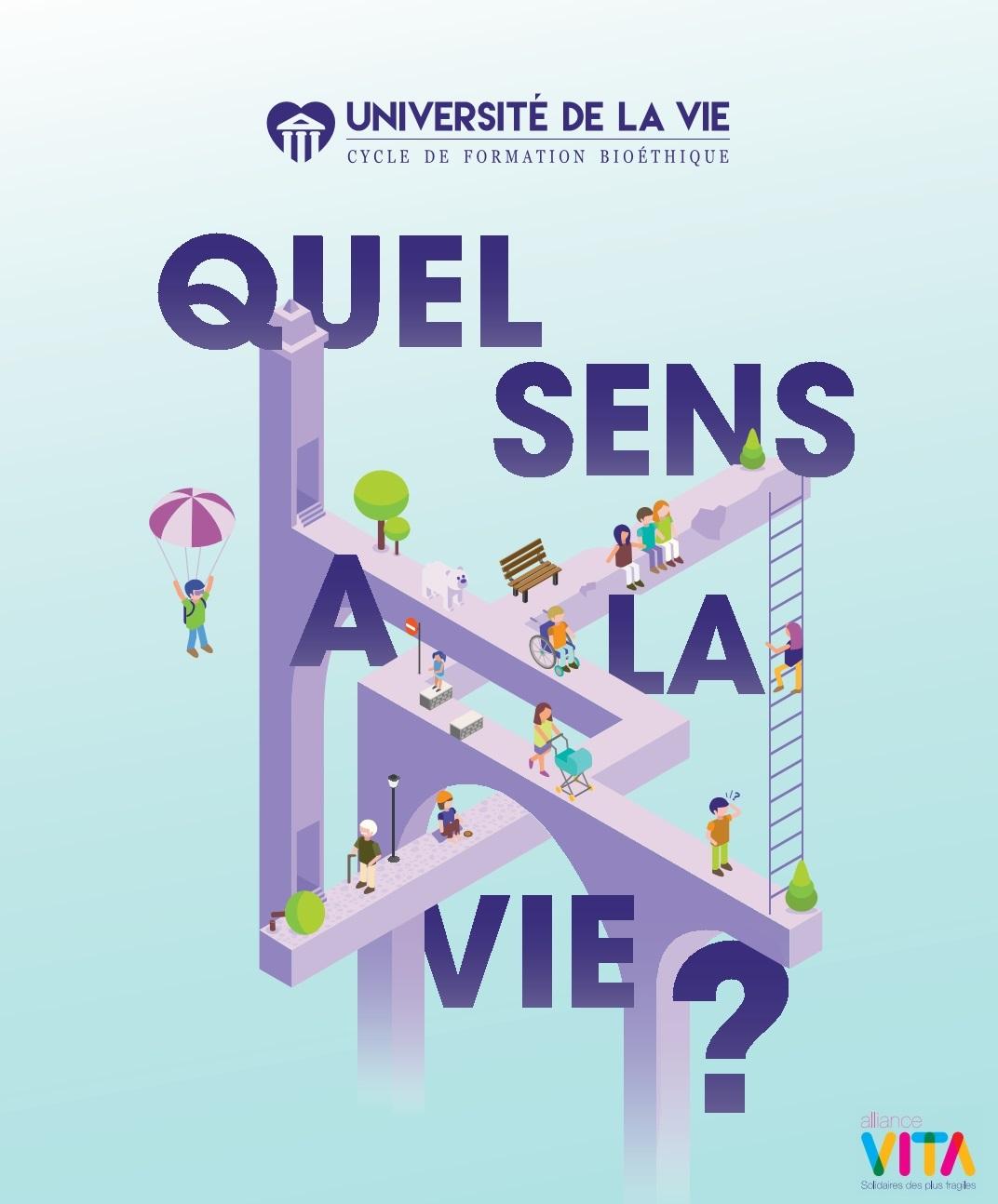 Bastia : 15e Université de la vie d'Alliance VITA sur le thème «Quel sens à la vie ?»
