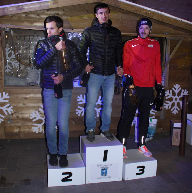 Le podium du City Trail