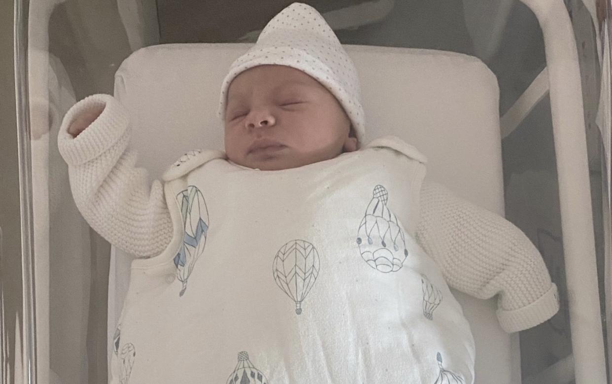 Petru-Santu, le premier bébé de l'année à Bastia !