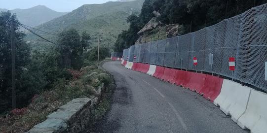 La fermeture de la RD 433, route d'accès au village d'Olmeta di Capicorsu est reportée à une date ultérieure